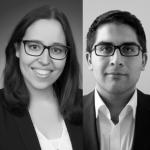 Wiss. Mitarb. Tanja Altunjan und Dr. Aziz Epik